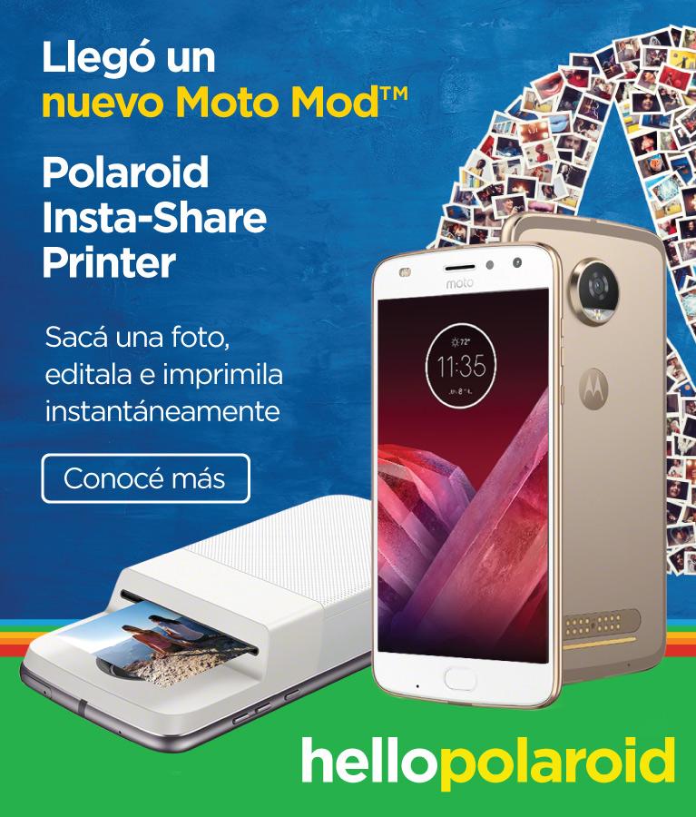 Moto Snap Polaroid