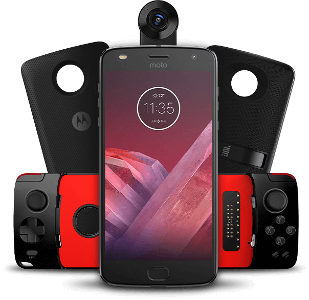 Phone moto z2 play